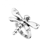 UNOde50 UNOde50 Ring   MY DRAGON-FLY   Zilver   LIBELLE  FW18