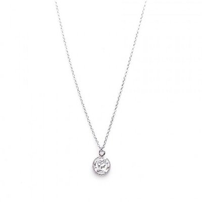 KARMA Jewelry KARMA Ketting | COIN | Zilver | T35-COL-CO-S