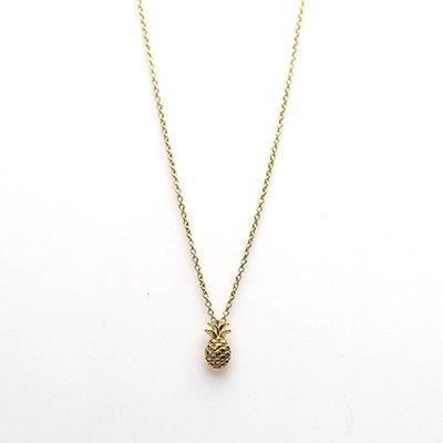 KARMA Jewelry KARMA Ketting | PINEAPPLE | Zilver | Goud |  T70-COL-GP