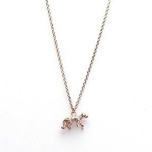 KARMA Jewelry KARMA Ketting | LEOPARD | Zilver | Rose