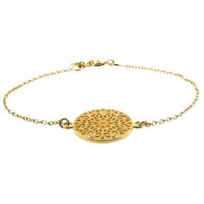 LILLY LILLY Armband | Goldies | Big Filigrain | 14 Karaats | A13