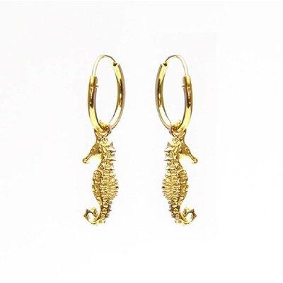 KARMA Jewelry KARMA CREOLEN | HOOPS SEAHORSE | GOLD | M1205