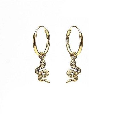 KARMA Jewelry KARMA CREOLEN | HOOPS SNAKE | GOLD | M1990