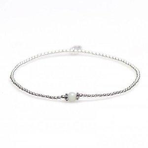KARMA Jewelry KARMA Armband | XS Balistyle Silver | Amazoniet | 93097AMZ
