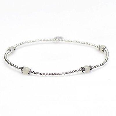 KARMA Jewelry KARMA Armband | XS Balistyle Silver | Amazoniet | 93088AMZ