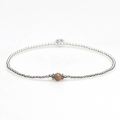 KARMA Jewelry KARMA Armband | XS Balistyle Silver |  Moonstone | 93097MOO