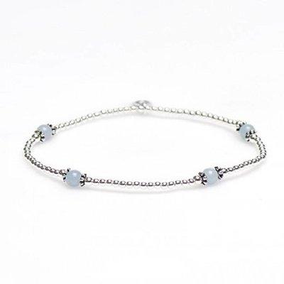 KARMA Jewelry KARMA Armband | XS Balistyle Silver | Aqua | 93088AQU