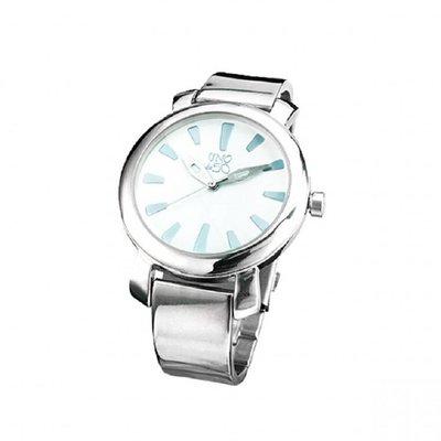 UNOde50 UNOde50 Horloge   COUNTDOWN    WIT   ZILVER   REL0136BLNMTL0U