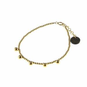 BLINCKSTAR BLINCKSTAR Armband | Gold Filled | Ball Drop