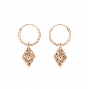 MIAB Jewels MIAB Oorbellen | Rosé Goud | Sparkle