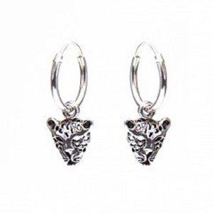 KARMA Jewelry KARMA CREOLEN | HOOPS LEOPARD | ZILVER