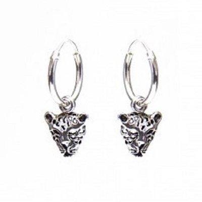 KARMA Jewelry KARMA CREOLEN | HOOPS LEOPARD | ZILVER | M1982