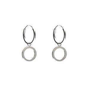 KARMA Jewelry KARMA CREOLEN | HOOPS OPEN CIRCLE | ZILVER