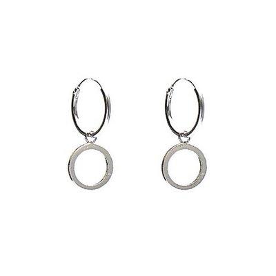 KARMA Jewelry KARMA CREOLEN | HOOPS OPEN CIRCLE | ZILVER | M1925