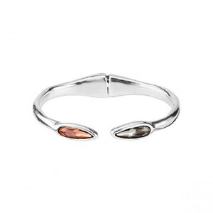 UNOde50 UNOde50 Armband | YOU & ME | ZILVER | KRISTAL | FW18