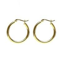 KARMA Jewelry KARMA CREOLEN | PLAIN HOOPS 30MM | GOLD