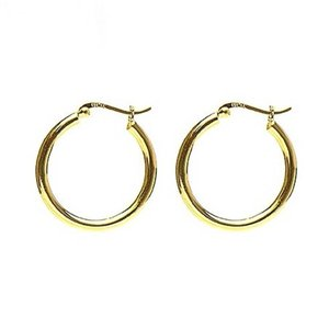 KARMA Jewelry KARMA CREOLEN | PLAIN HOOPS 30MM | GOLD