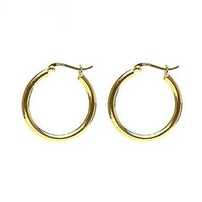 KARMA Jewelry KARMA CREOLEN | PLAIN HOOPS 30MM | GOLD | M2074