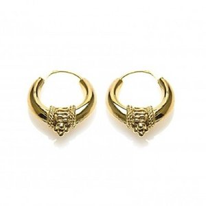 KARMA Jewelry KARMA CREOLEN | BALI HOOPS 20MM | GOLD