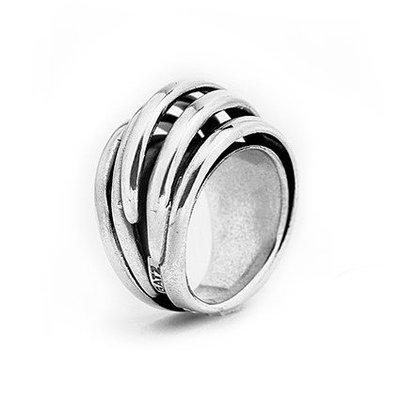 GATZ Ring | WICKER | Zilver | 1106