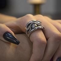 GATZ GATZ Ring | ZIRCONIA | Zilver