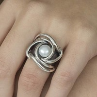 GATZ Ring | ENERGIE | Zilver | Parel