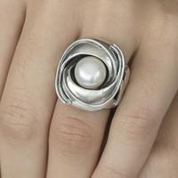 GATZ Ring | ORCHIDEE | Zilver | Parel