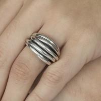 GATZ Ring | WICKER | Zilver