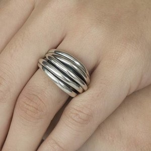 GATZ Ring | WICKER | Zilver
