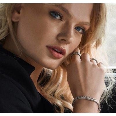 SILK Jewellery SILK Armband | 153 Armband Mesh | Zilver | 19 cm