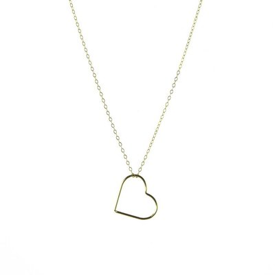 BLINCKSTAR BLINCKSTAR Ketting | Goldfilled | Hartje | 1802K11
