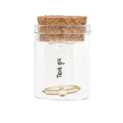 MIAB Jewels MIAB Ring | Goud | Around