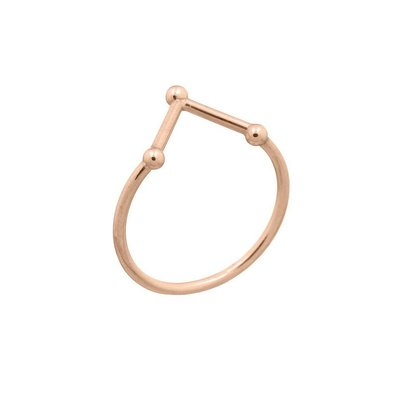 MIAB Jewels MIAB Ring | Rose Goud | Three Points