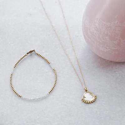 MIAB Jewels MIAB Ketting | Rose Goud | Dotty | Gold Filled