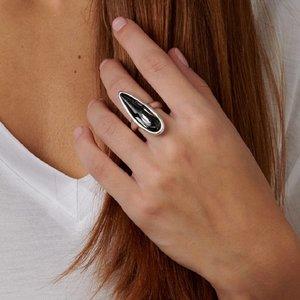 UNOde50 UNOde50 Ring | LOVE HIM | Zilver | Kristal | Grijs | FW18
