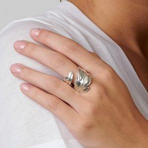 UNOde50 UNOde50 Ring | FEATHER | Zilver | Veer | FW18