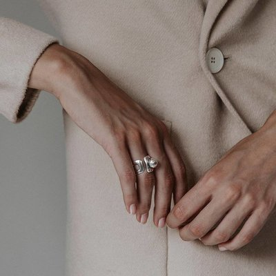 UNOde50 UNOde50 Ring | NO WAY | Zilver | FW18 | ANI0570MTL000