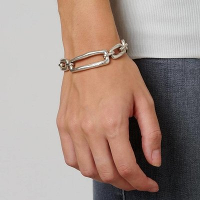 UNOde50 UNOde50 Armband | CHAIN BY CHAIN | SCHAKEL | FW18 | PUL1763MTL0000M
