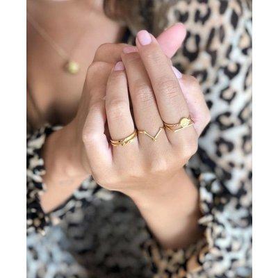 MIAB Jewels MIAB Ring | Zilver | Three Points