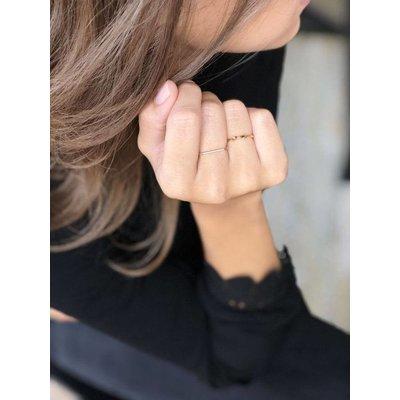 MIAB Jewels MIAB Ring | Goud |  Double Twist