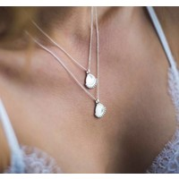 MIAB Jewels MIAB Ketting | Zilver | Dotty