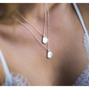 MIAB Jewels MIAB Ketting | Zilver | Dotty