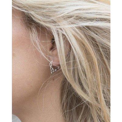 MIAB Jewels MIAB Oorbellen | Goud | Curly | 14k Goud Vermeil