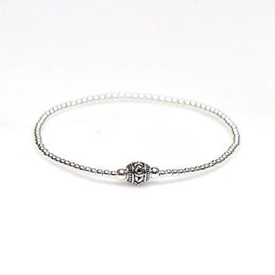 KARMA Jewelry KARMA Armband | XS Balistyle Silver | Logo Bead |  92328