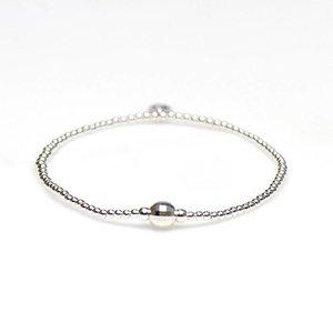 KARMA Jewelry KARMA Armband | XS Balistyle Silver | Logo Bead |  92323