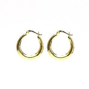 KARMA Jewelry KARMA CREOLEN | PLAIN HOOPS 25 MM | GOLD