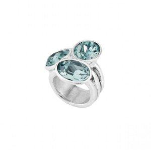 UNOde50 UNOde50 Ring | TREASURE | Zilver | Kristal | Blauw | SS19