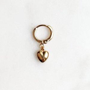 BY NOUCK BY NOUCK Earrings | LOVE | VERGULD