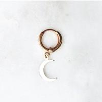 BY NOUCK BY NOUCK Earrings | MOON | VERGULD
