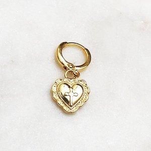 BY NOUCK BY NOUCK Earrings | CROSS HEART | GOLD
